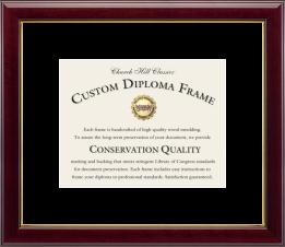 Single Diploma Frame