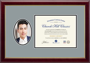 Portrait and Certificate Frames