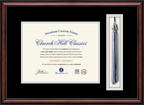 Tassel Document Frame