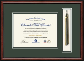 Diploma and Tassel Frames