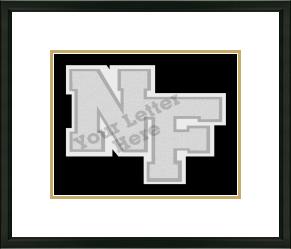 JV or Varsity Letter Frame