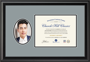 Portrait and Certificate Frame